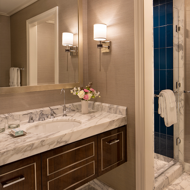 Executive Suite with Ocean View Bathroom