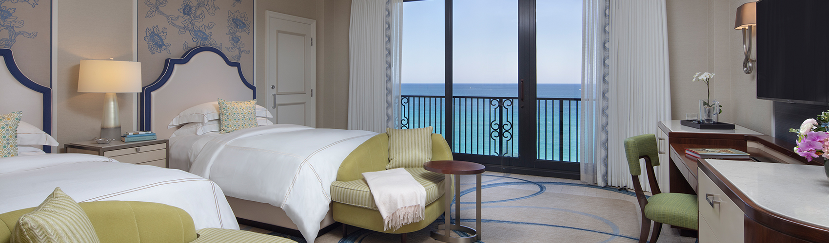 Atlantic Guest Room with Oceanfront View Double