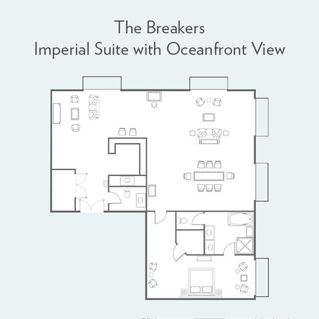 Imperial Suite floor plan