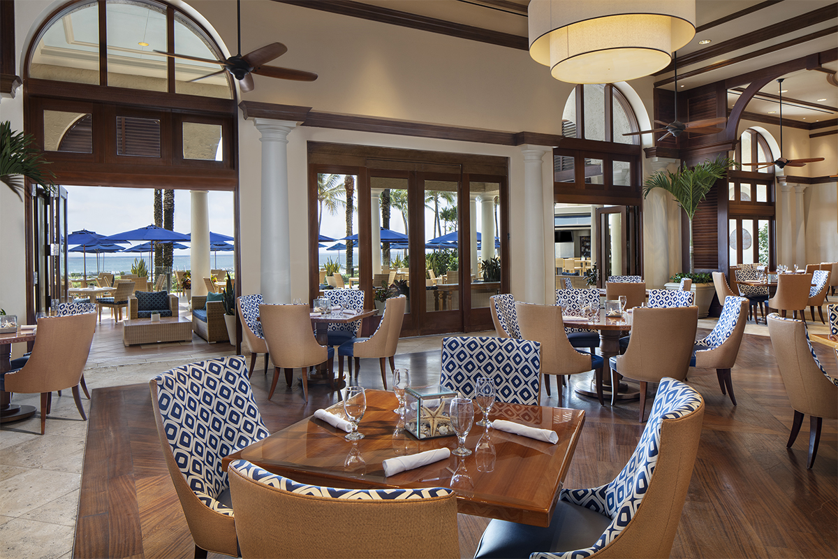 The Beach Club Restaurant at The Breakers
