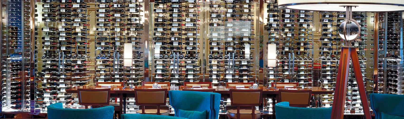 Wine Wall at HMF at The Breakers