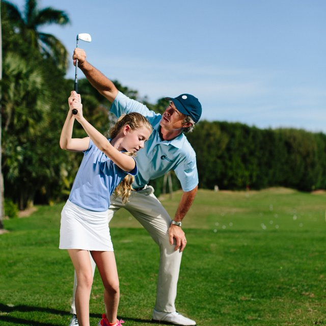 Junior instruction at John Webster Golf Academy