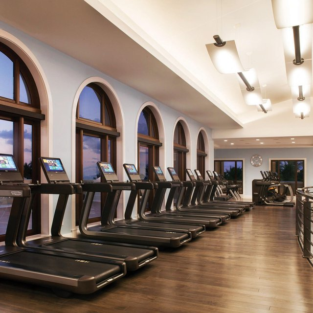Ocean Fitness center at The Breakers