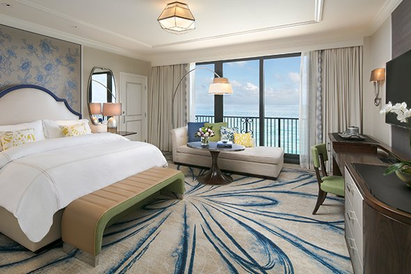 Accessible Guest Room with Oceanfront View