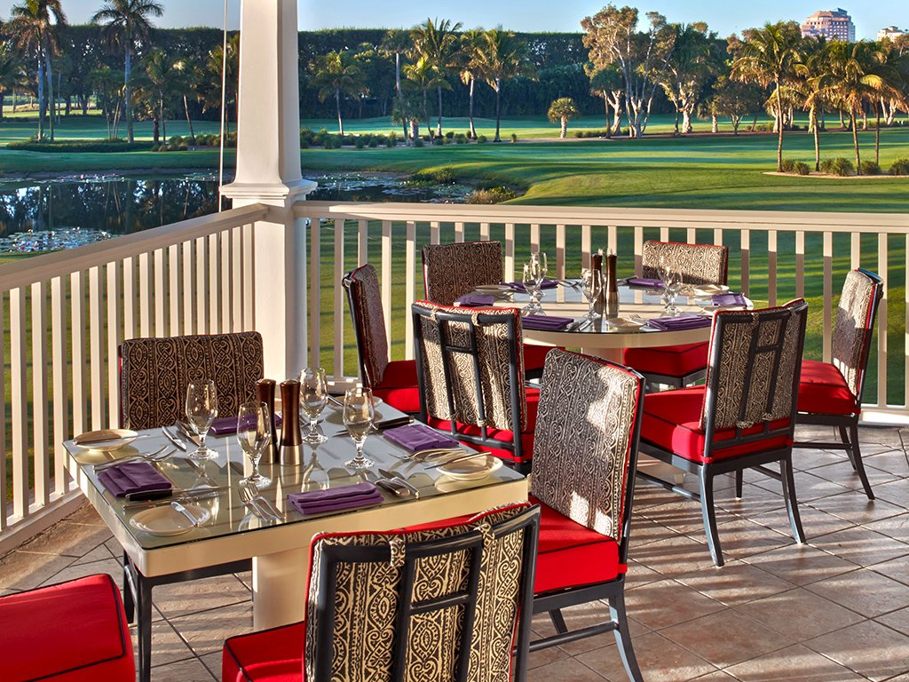 Flagler Steakhouse terrace