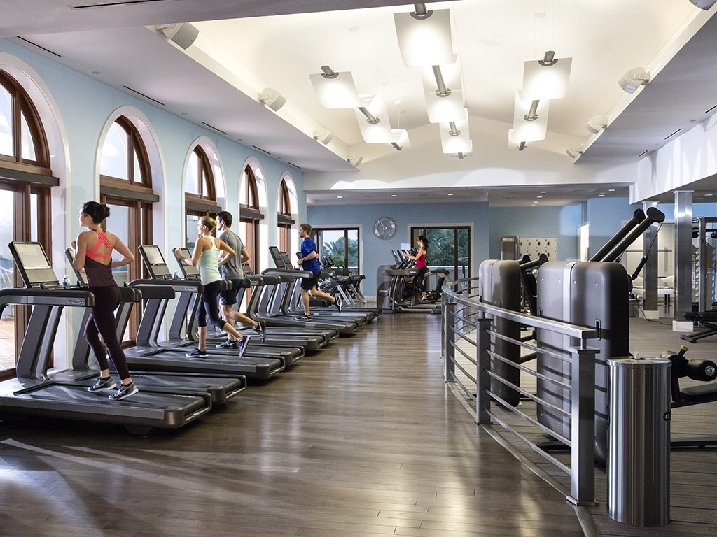 The Breakers Ocean Fitness center