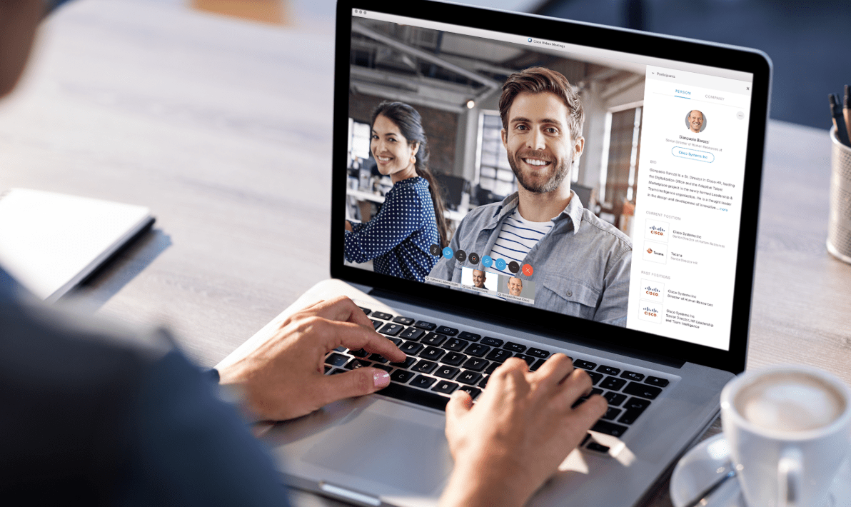 building connections through video conferencing