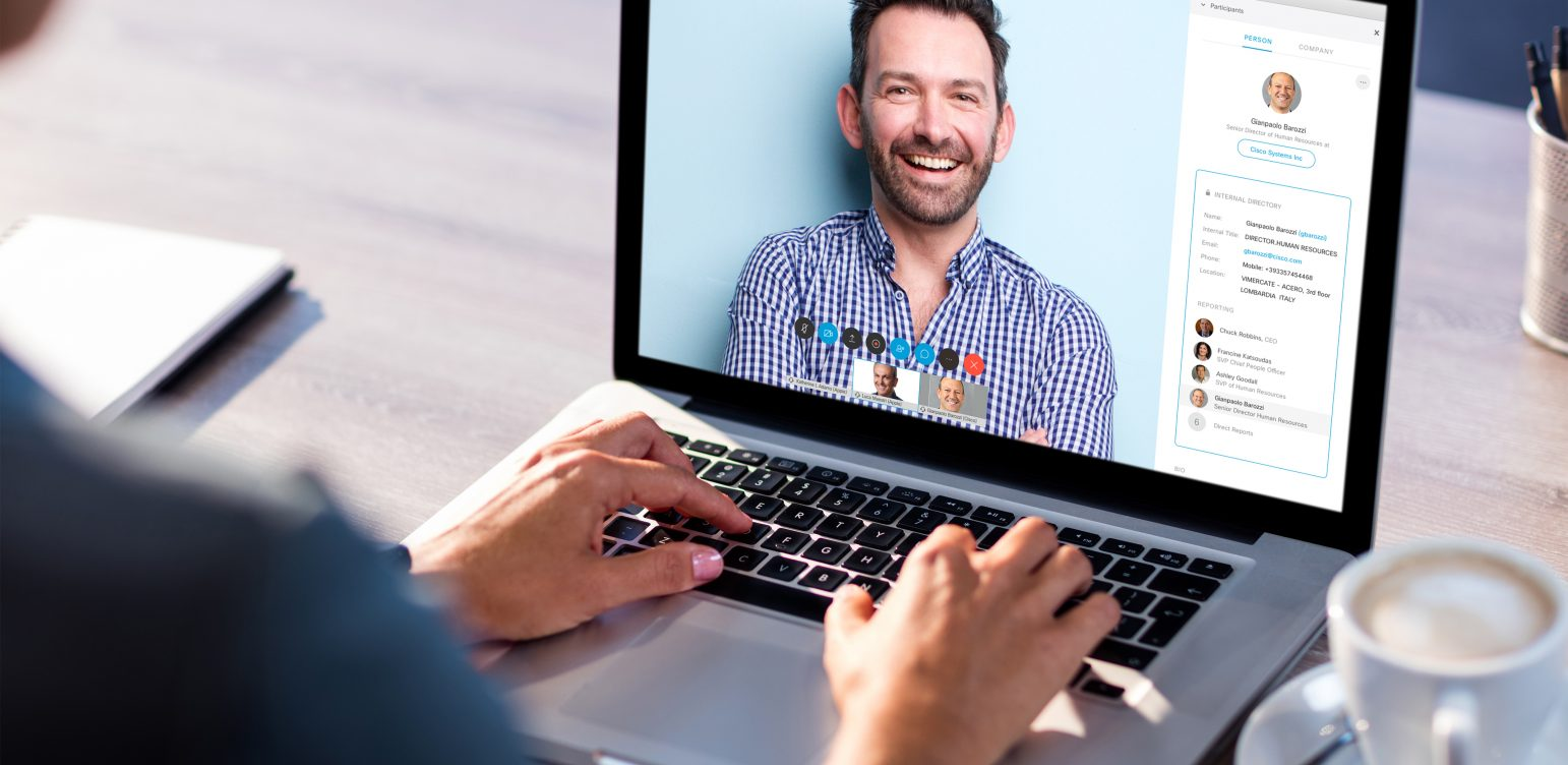 People Insights for video conferencing meetings