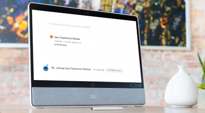 Meet the new face of Webex Assistant