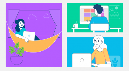 Adjusting to a new normal: The shift to remote work