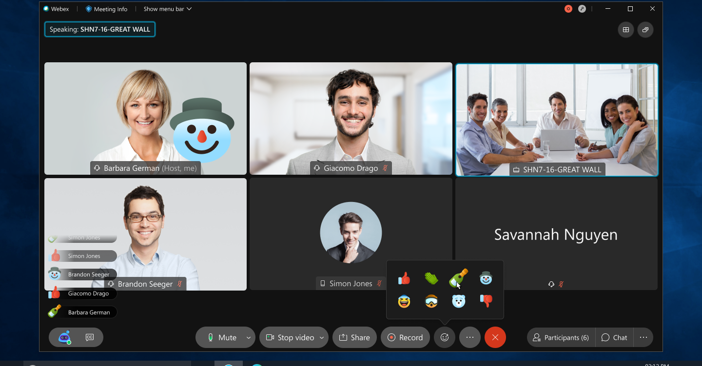 It's all in the new Webex