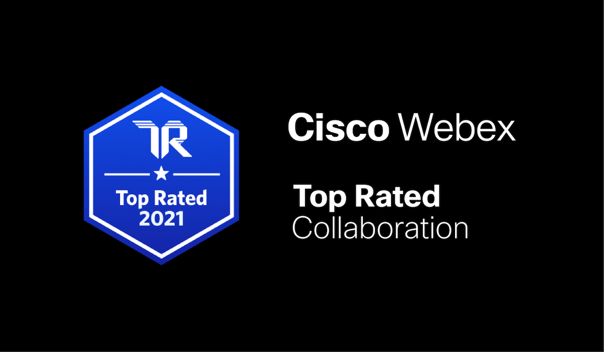 Top rated collaboration Cisco Webex