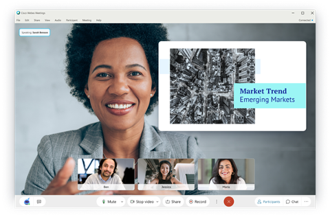Cisco and Prezi enhance the video collaboration experience