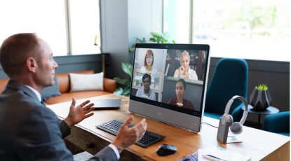Power an inclusive and engaged workforce with Webex and Workplace from Facebook