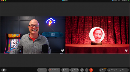 Webex and mmhmm make your meetings & events more engaging and immersive
