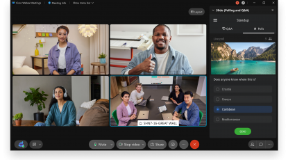 What's new in Webex: July 2021