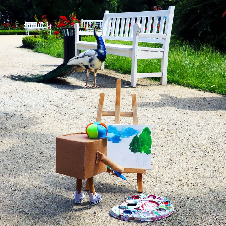 Paczkuś zachęca dzieci i młodzież do udziału w warsztatach. W ofercie są zajęcia z malarstwa i rękodzieła