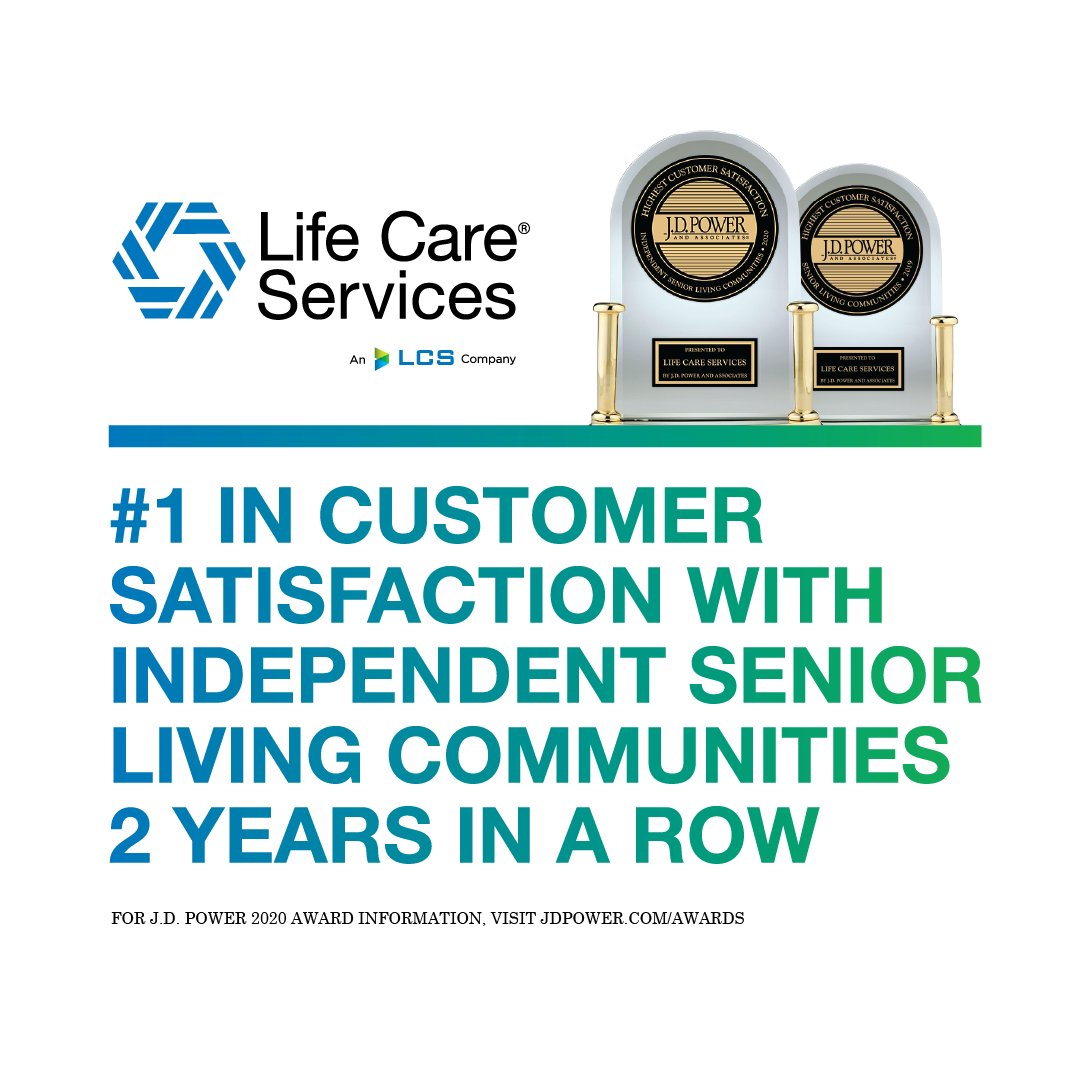 Life Care Services Ranked Highest in Customer Satisfaction among Independent Senior Living Communities | Wyndemere