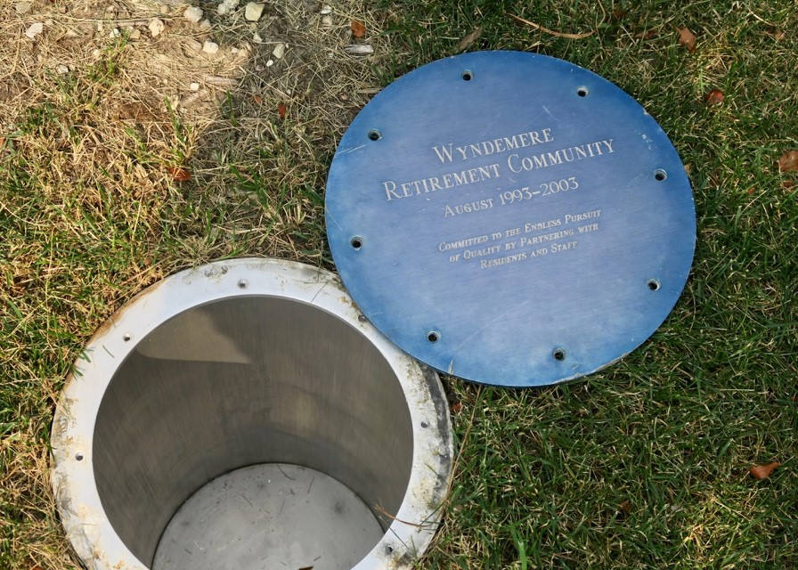 Wyndemere Celebrates 25 Years by Opening Time Capsule