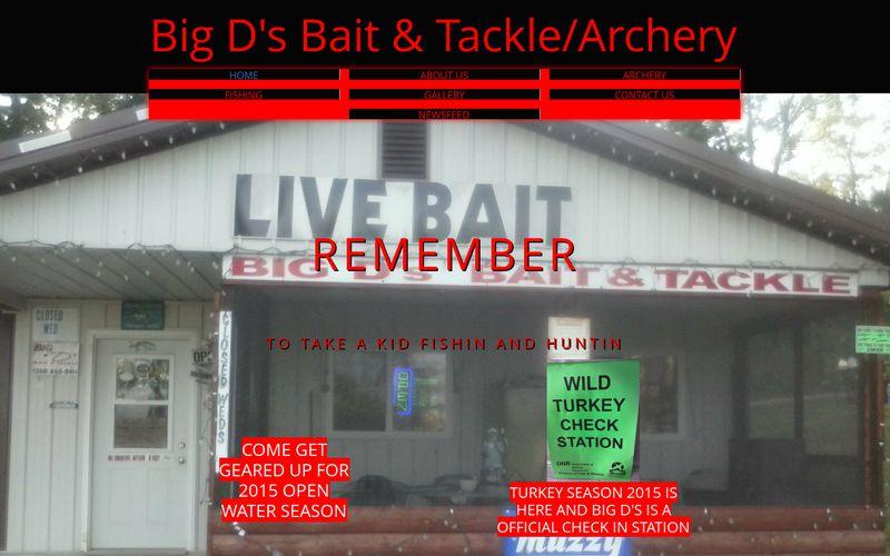 bigdsbaitandtackle.com
