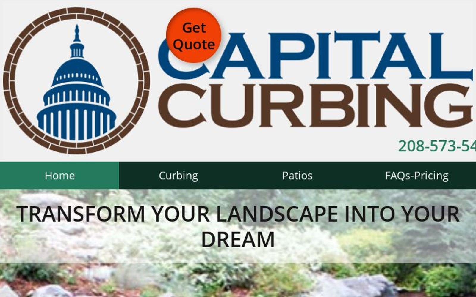 Capital Curbing Idaho 208 573 5466 Landscape Concrete Curbing