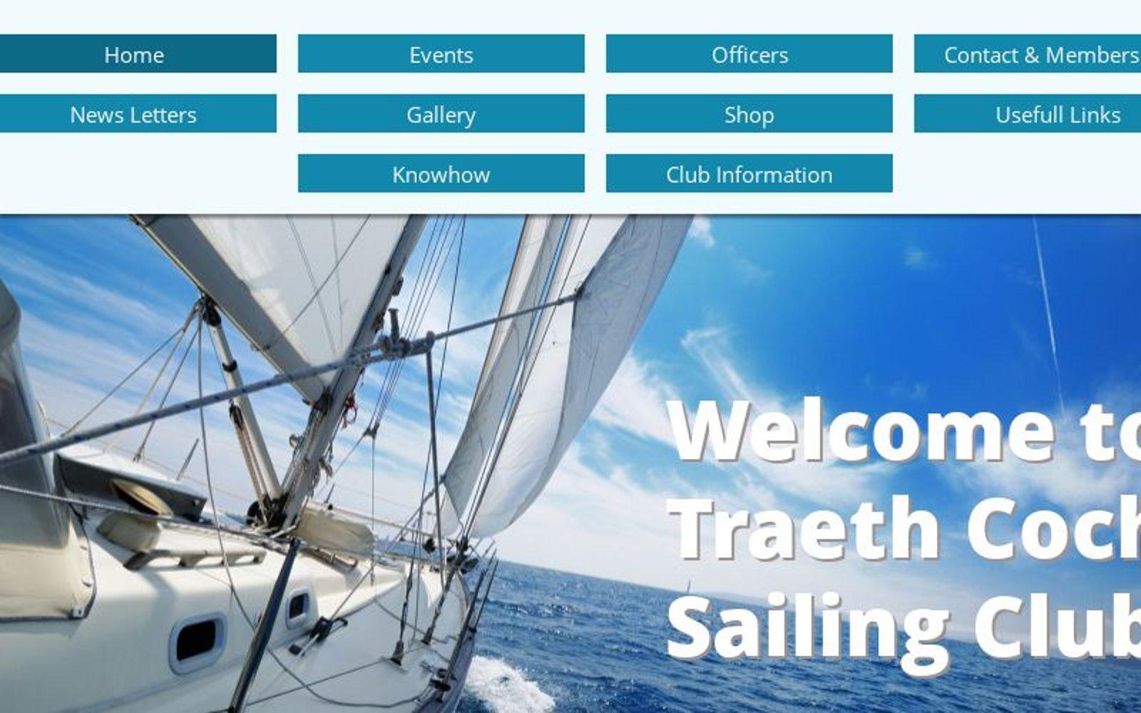 Traeth Coch Sailing Club, Anglesey, North Wales