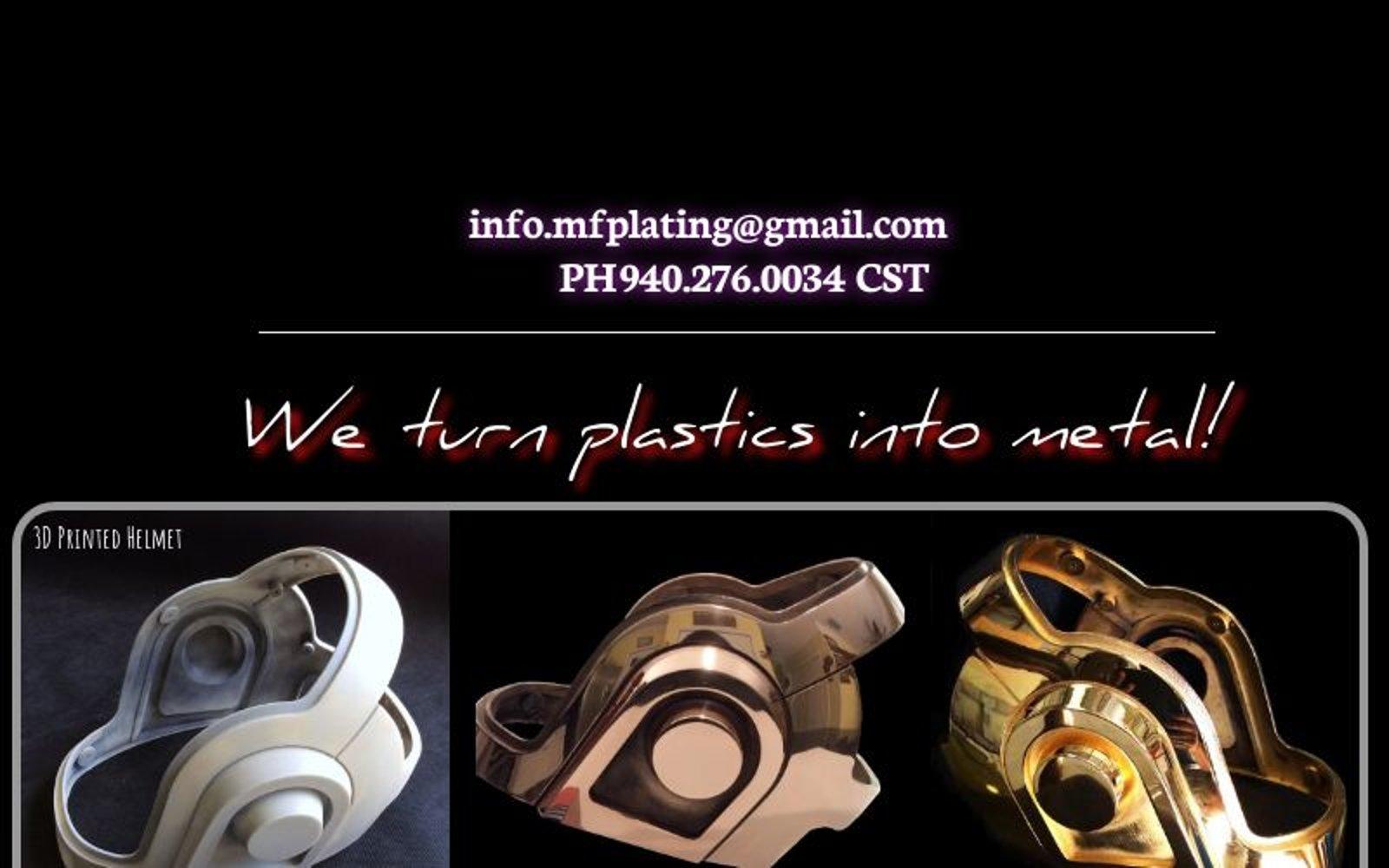 Chrome Plating Plastics and Metal