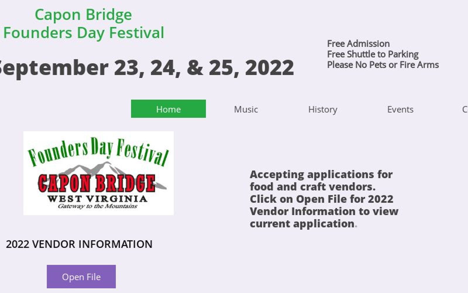 (c) Cbfoundersdayfestival.net