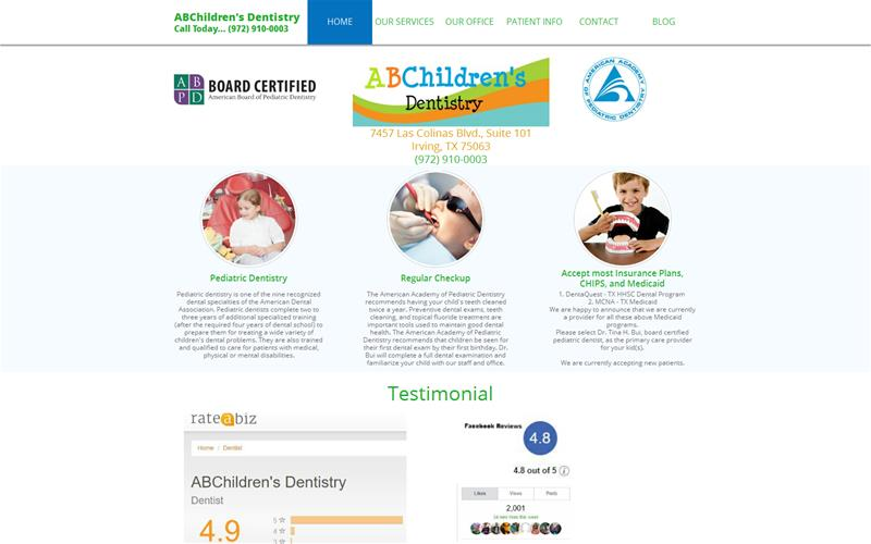 ABChildren's Dentistry - Tina H  Bui, DDS, MS