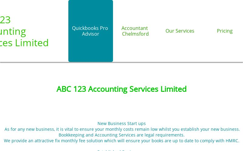 Chelmsford|Accountant|Quickbooks|Personal Tax