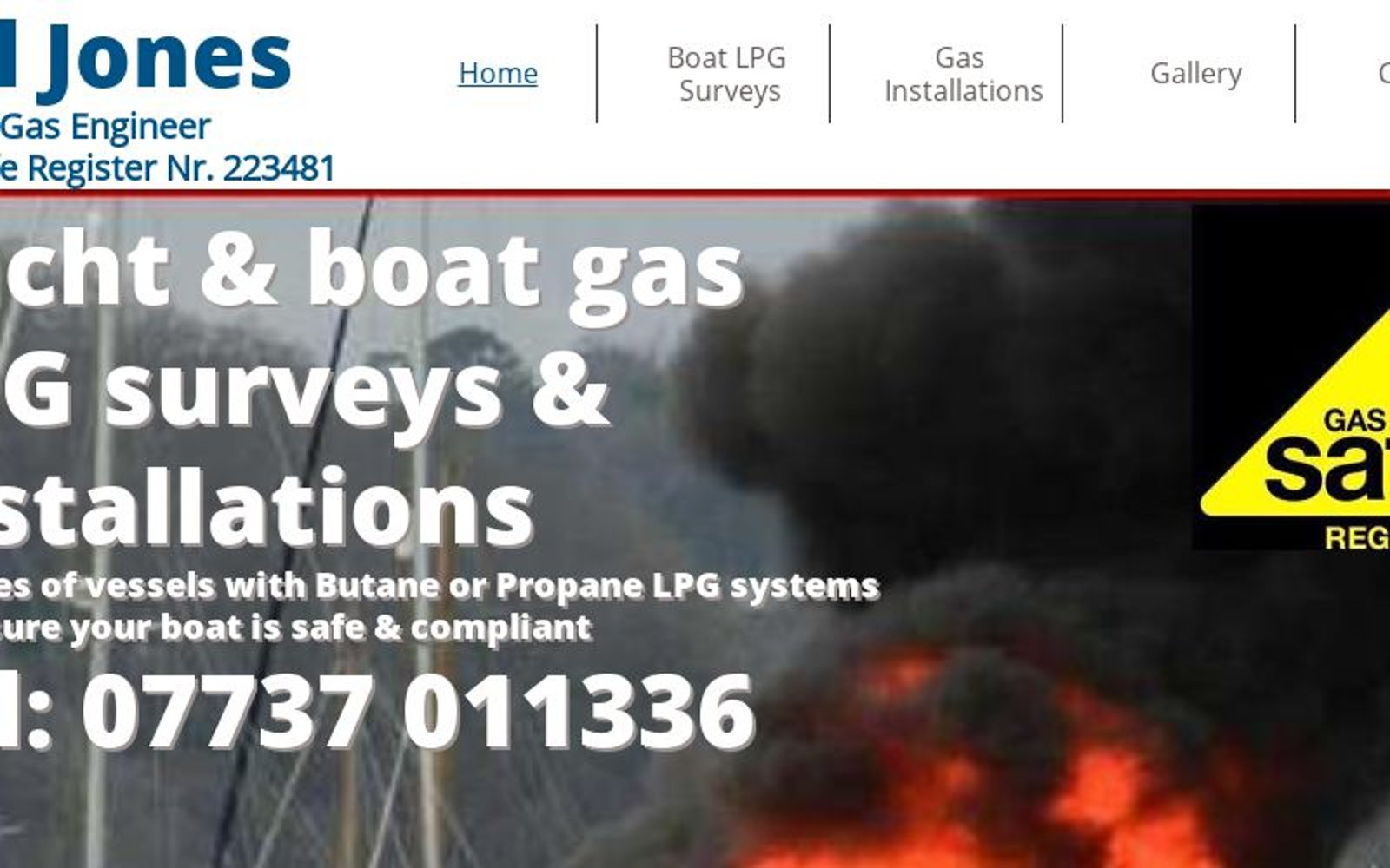 Bill Jones Marine Gas Engineer