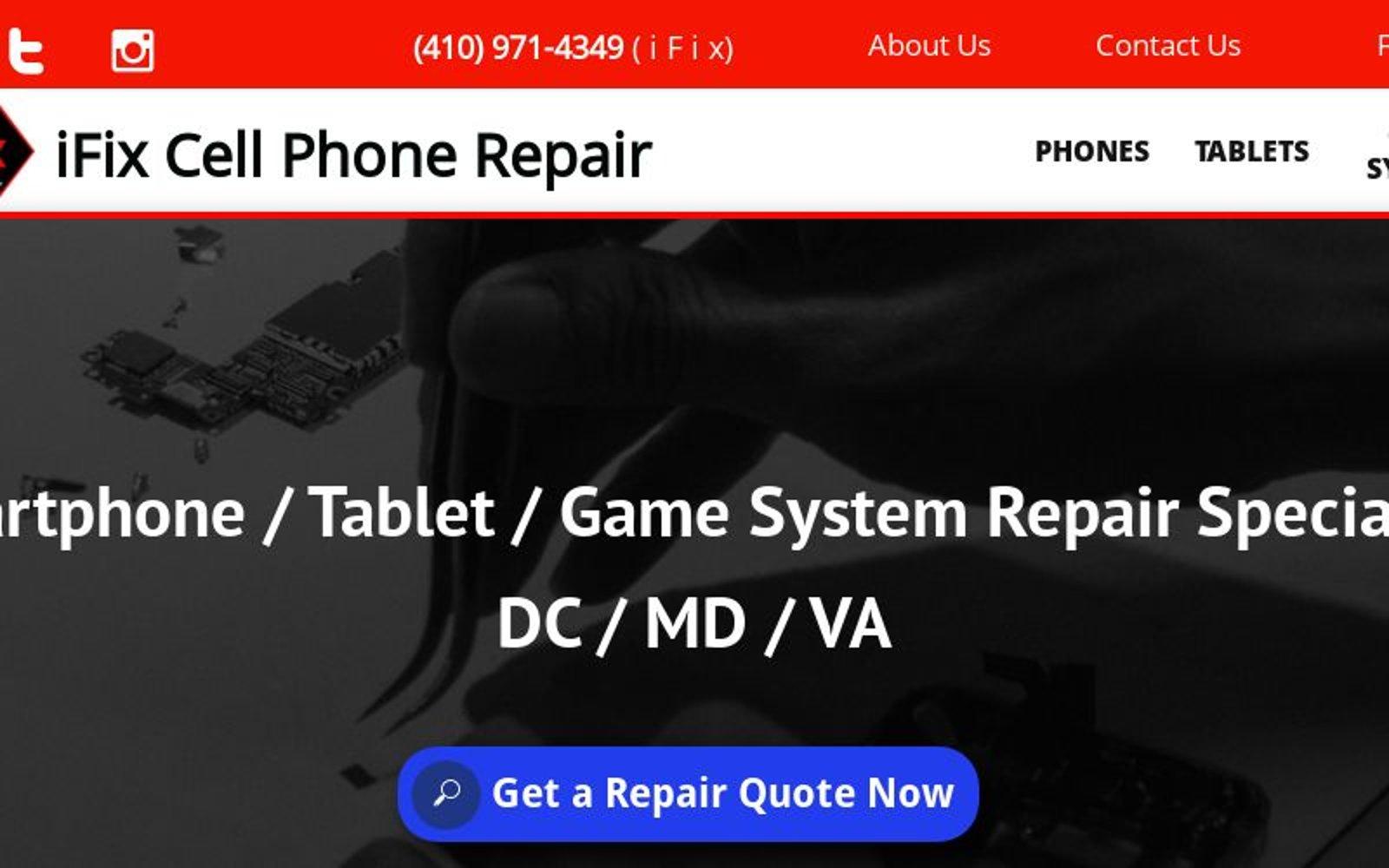 iPhone Repair, iPad Repair, Cell Phone Repair and Game