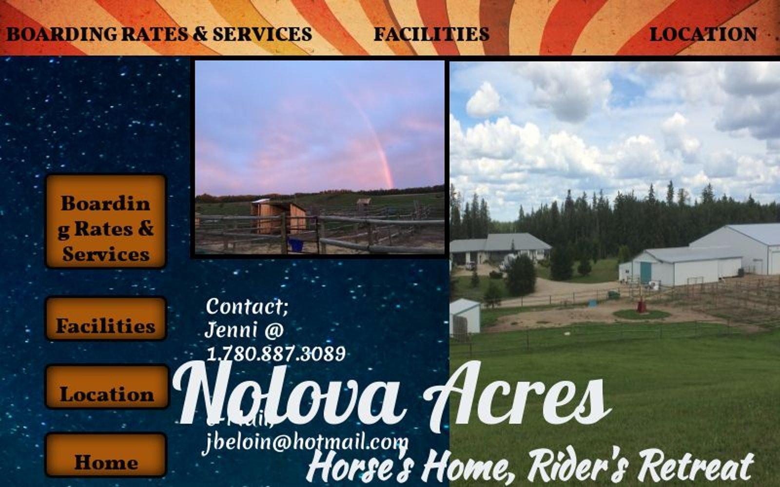 Nolova Acres Horse Stables