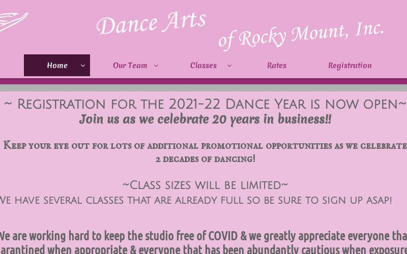 Dance Arts of Rocky Mount