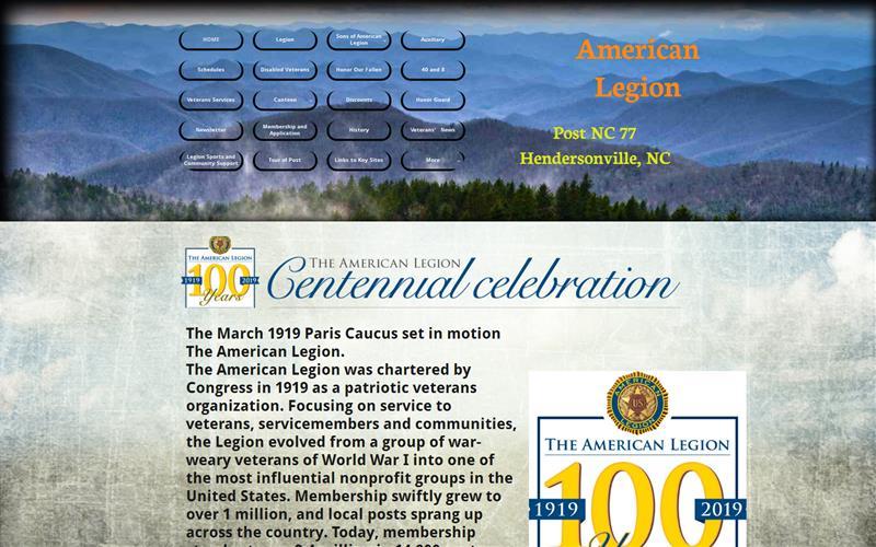 AmericanlegionPostnc77com