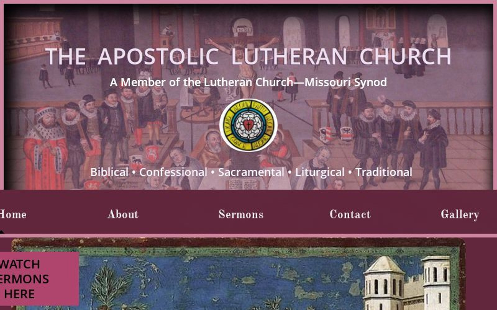 the apostolic lutheran church
