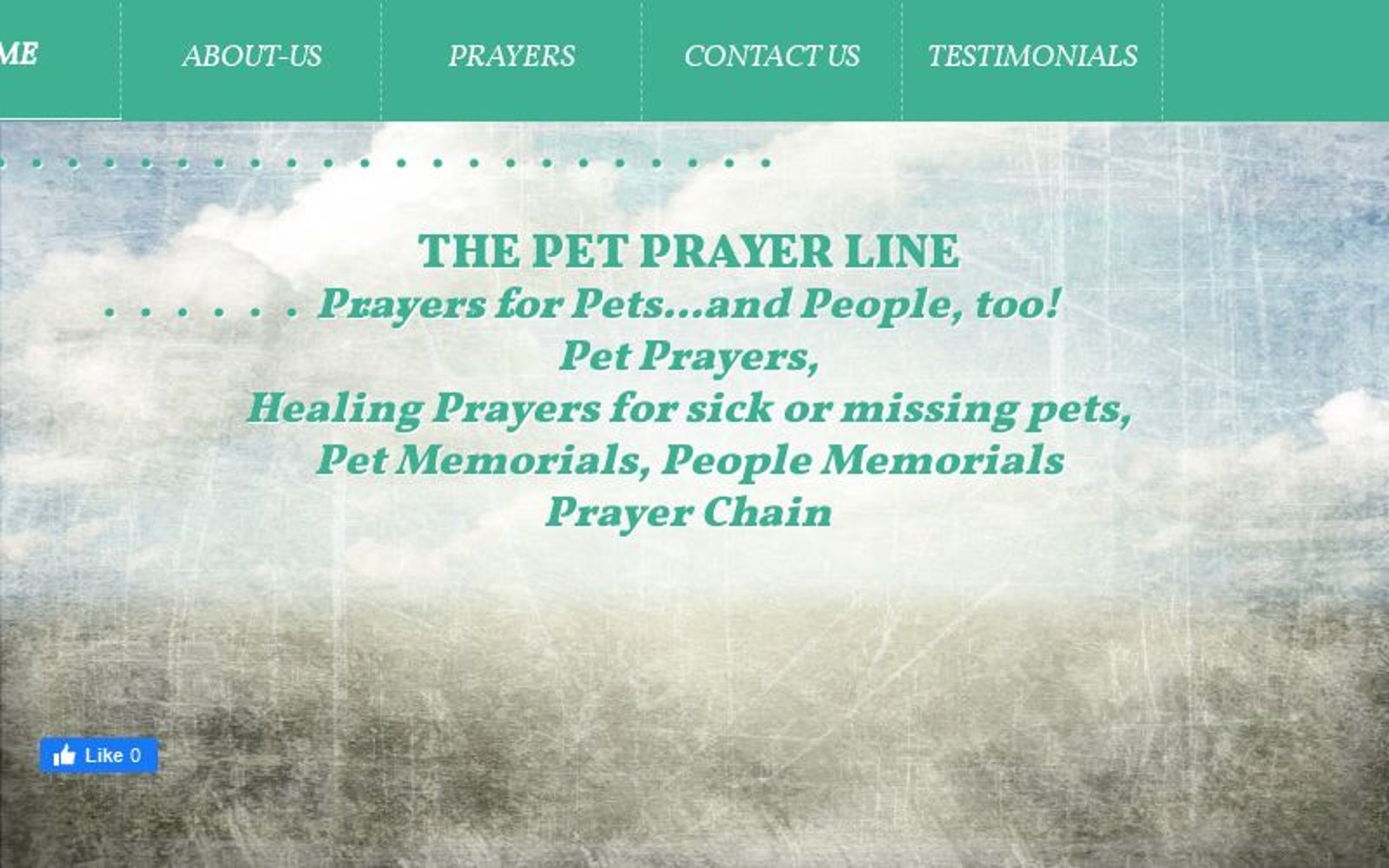 The Pet Prayer Line - Home