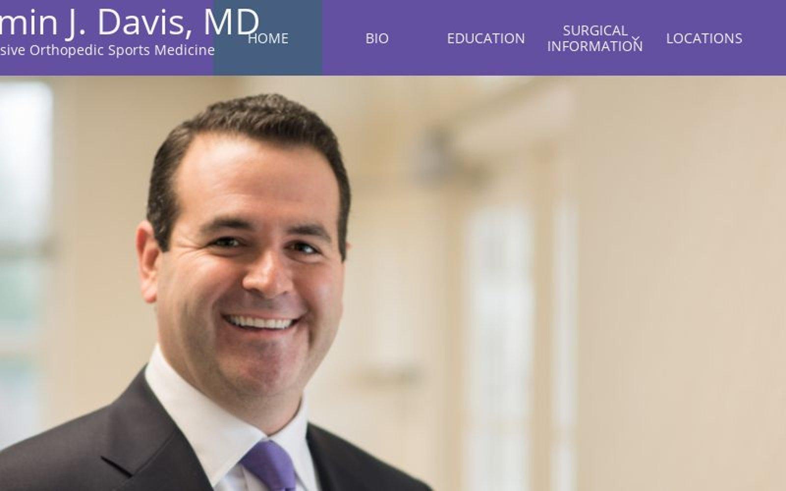 Benjamin Davis MD | Northwestern | Sports Medicine