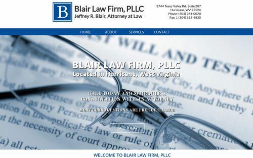 Hurricane, WV Lawyer • Etate Planning/Wills • Blair Law Firm