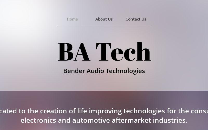 benderaudiotech.com
