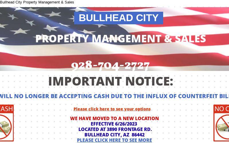 Bullhead City Property Management & Sales
