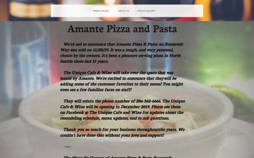 amante pizza coupons