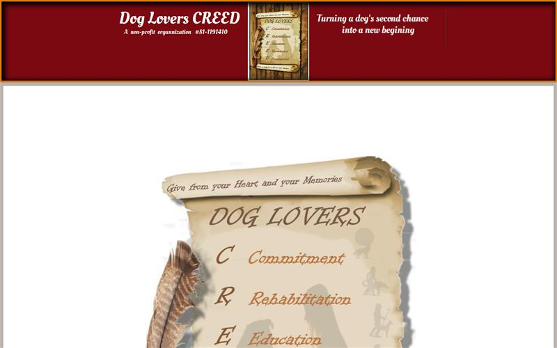 Dog Lovers Creed 1