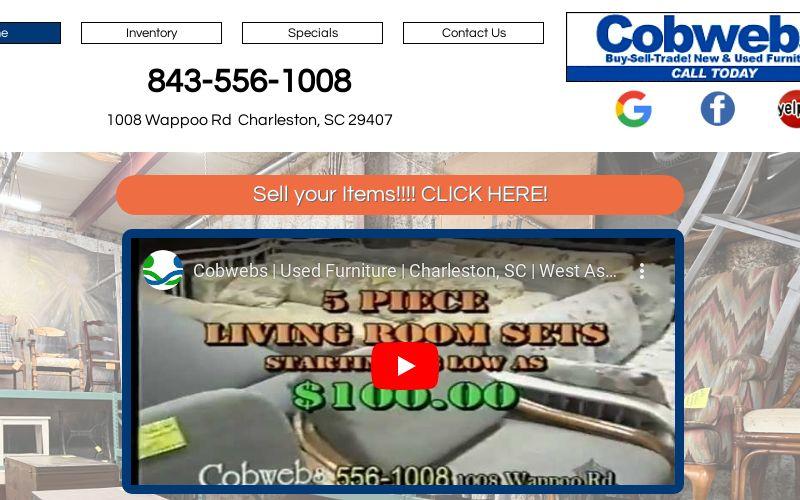Cobwebs Used Furniture Charleston Sc, Used Furniture Charleston Sc
