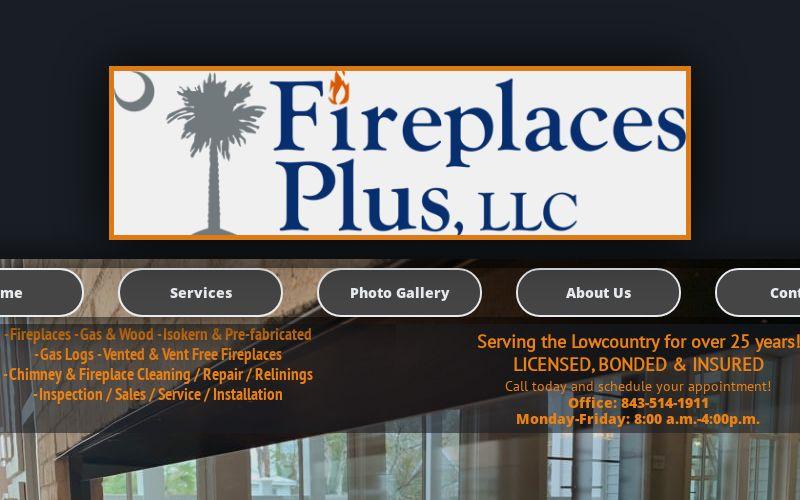 Gas And Wood Burning Fireplaces Charleston Sc Fireplaces Plus Llc