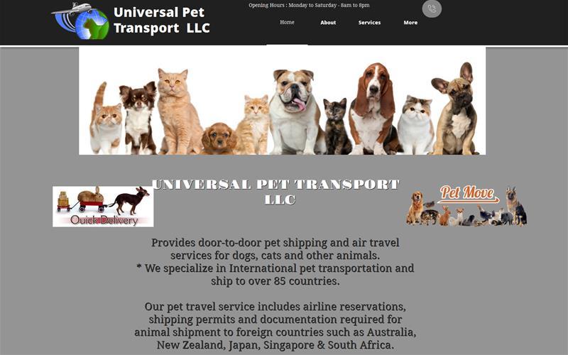 Universal Pet Transport LLC