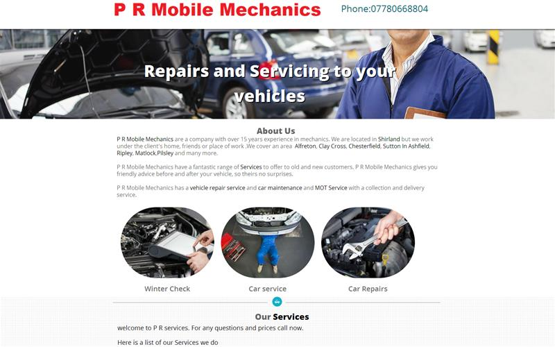 P R Mobile Mechanics Car Repairs And Services