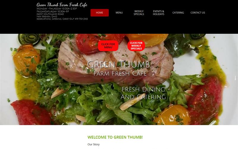 Green Thumb Farm Fresh Cafe and Green Thumb Restaurant New