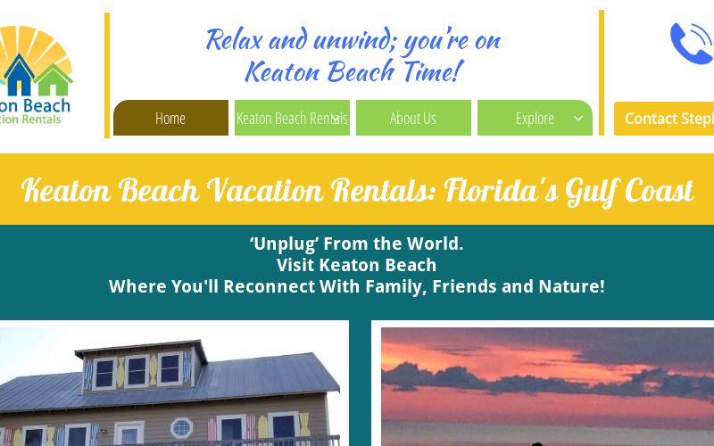 Keaton Beach Vacation Rentals Florida Gulf Coast