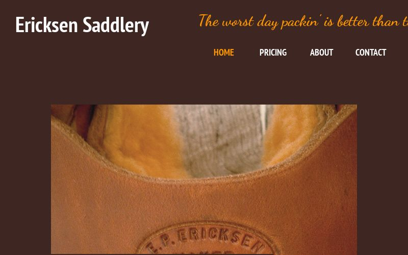 Ericksen Saddlery